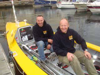 Hoyland and Coe preparing for sea trials